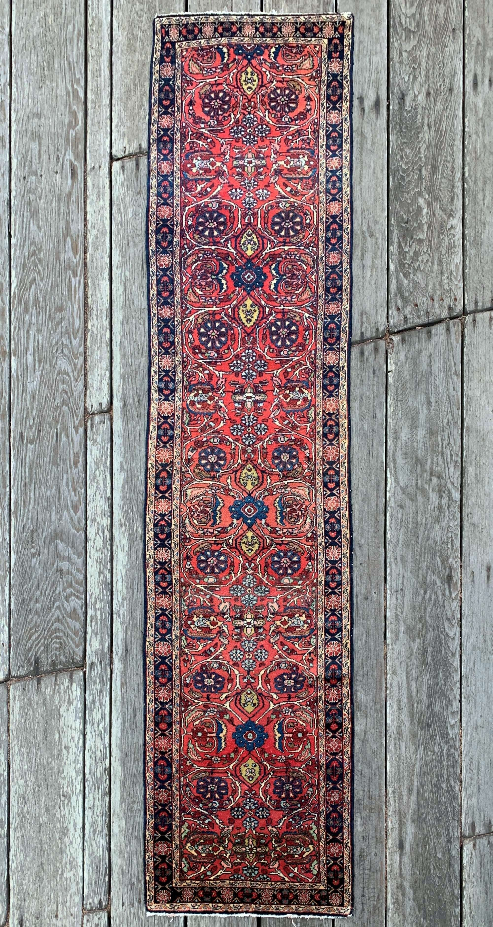 Steelman Rugs Vintage Persian Runner Rug 2 8 X11 3 In 2020 Persian Rug Runners Rug Runner Persian