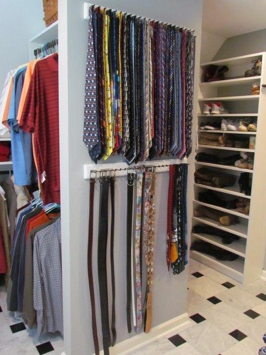 Atlanta Closet - Ties and Belts