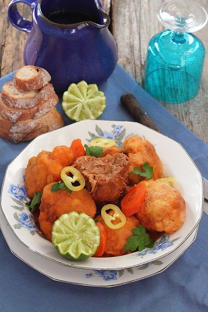 Beignets de chou-fleurs en sauce (met afbeeldingen)