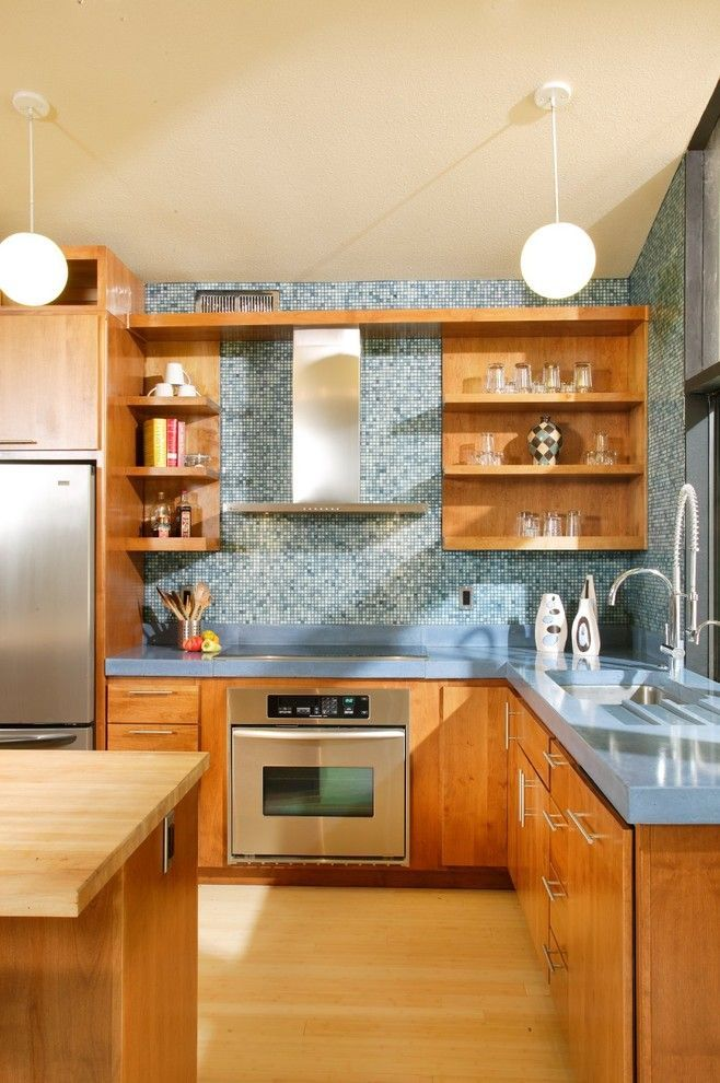 Attirant Bill Smith Appliances For A Midcentury Kitchen With A Alder And Mid Century  Modern Revival Kitchen By Shasta Smith By Shasta Smith   CID #6478