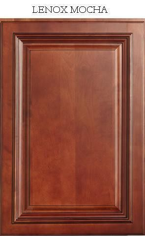 Lenox Mocha - Sample | Ready to assemble cabinets, Solid ...