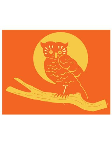 A shiny-eyed bird is a wise addition to your Halloween decor.Print the Night Owl TemplateSee More Halloween Pumpkin Templates