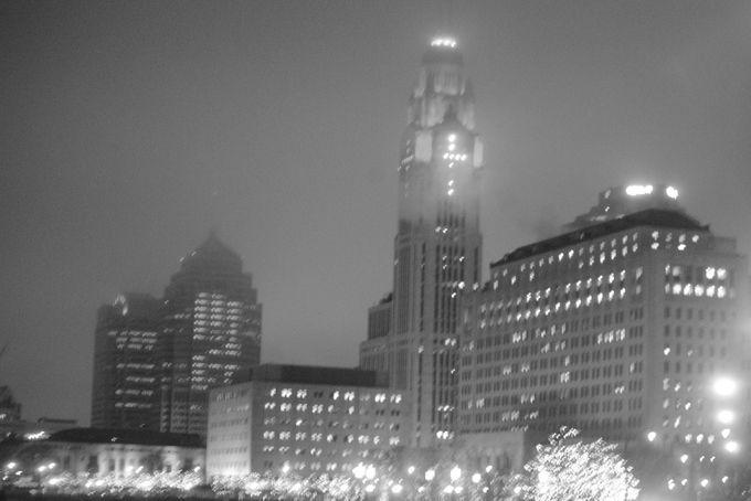 "Photo ""foggyB&Wtower"" by toml721"