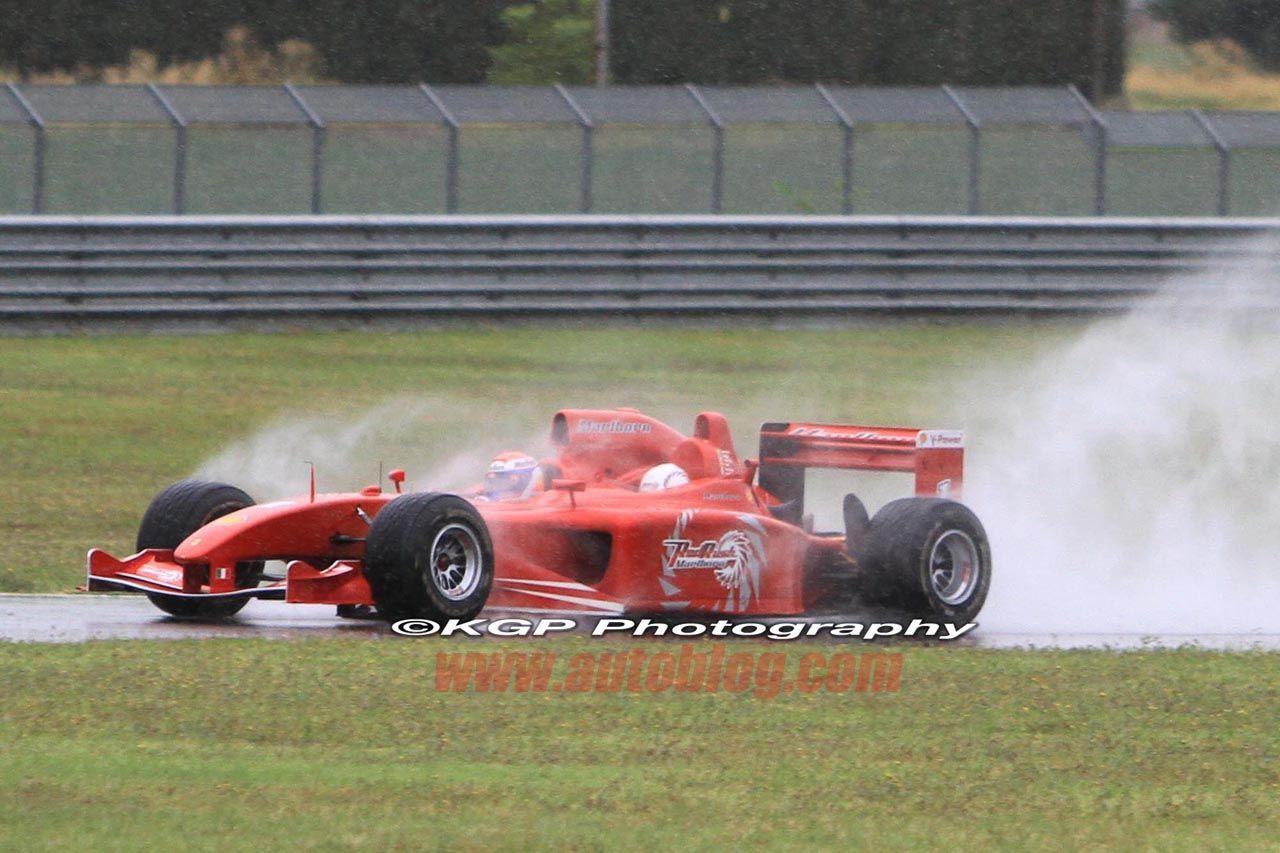 Ferrari 3 Seater F1 Car