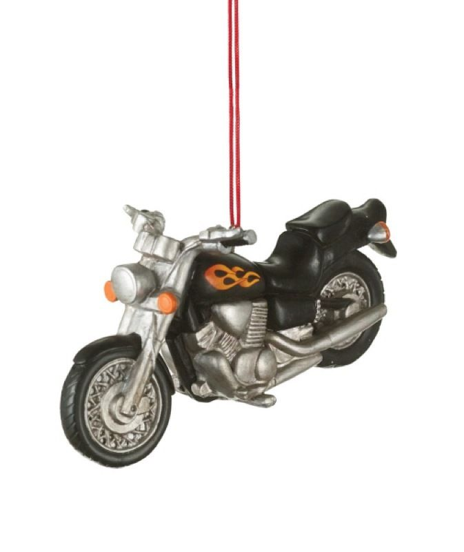 Harley Davidson Motorcycle Christmas Ornaments