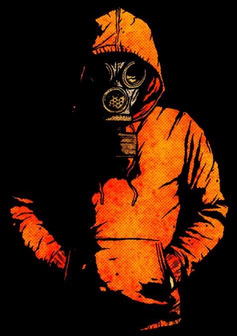 Gas Mask Direngeziparki Affiches Mascaras Máscaras De Gas Et Arte