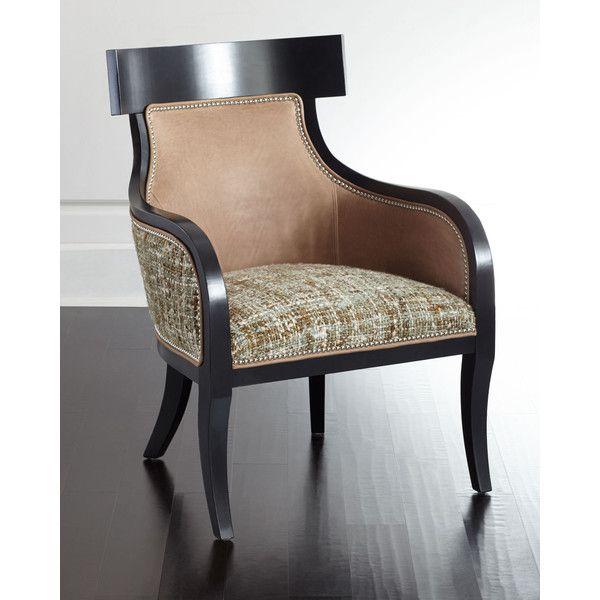 Massoud Calais Tweed Chair (17 025 SEK) ❤ liked on Polyvore