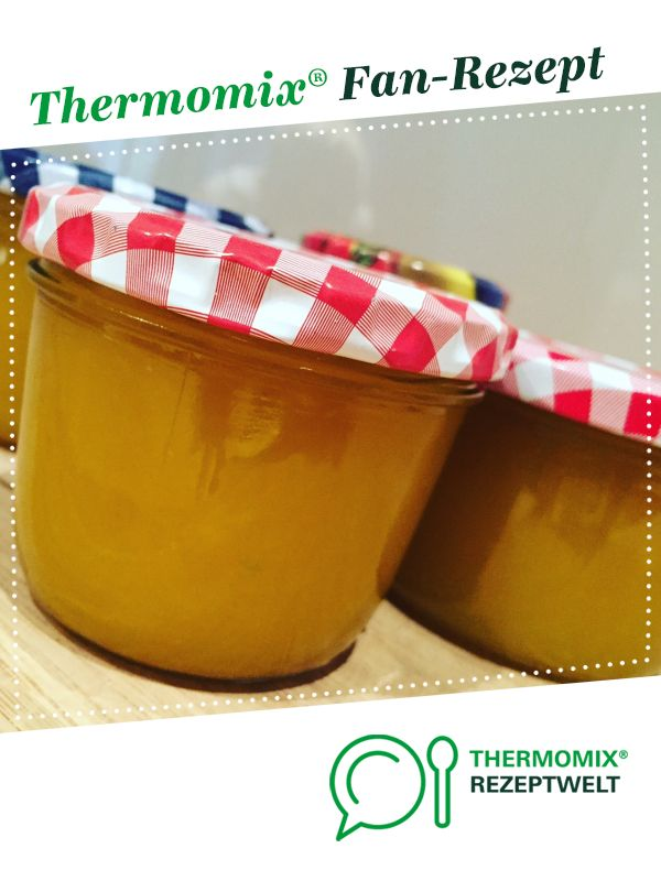 Photo of Mango-vanilla jam with a dash – leeeeeecker :)