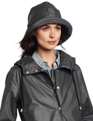 14240f94ef7 Grey PVC Raincoat   Hat. Find this Pin and more on Rain Hats ...