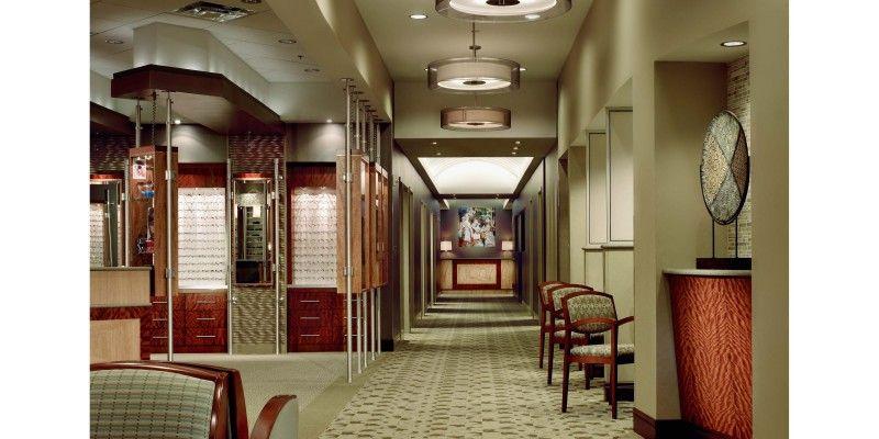 Eye Associates Design, Ceiling design, Front