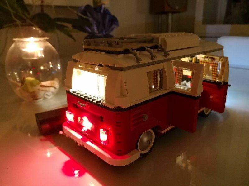 Light Kit Only Lighting Kit for LEGO Creator 10220 VW Camper Van