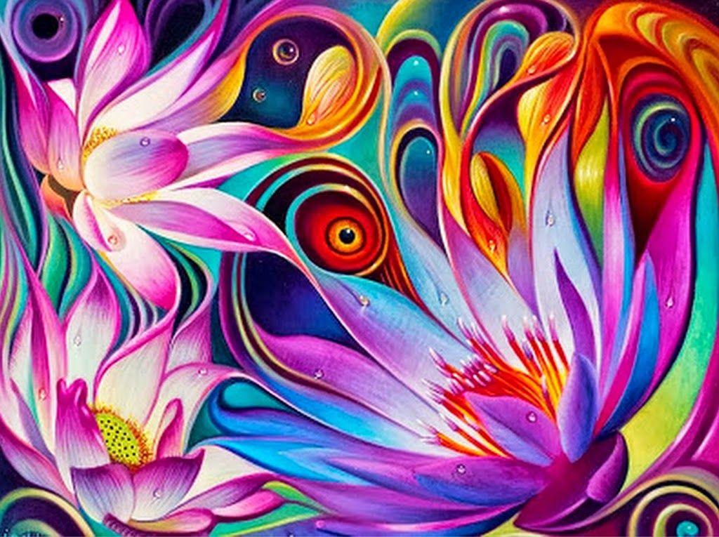 Dinamikus floral fantasy lotus flower created with fraktal editors dinamikus floral fantasy lotus flower created with fraktal editors design flower abstractfloralgfrden bed mightylinksfo
