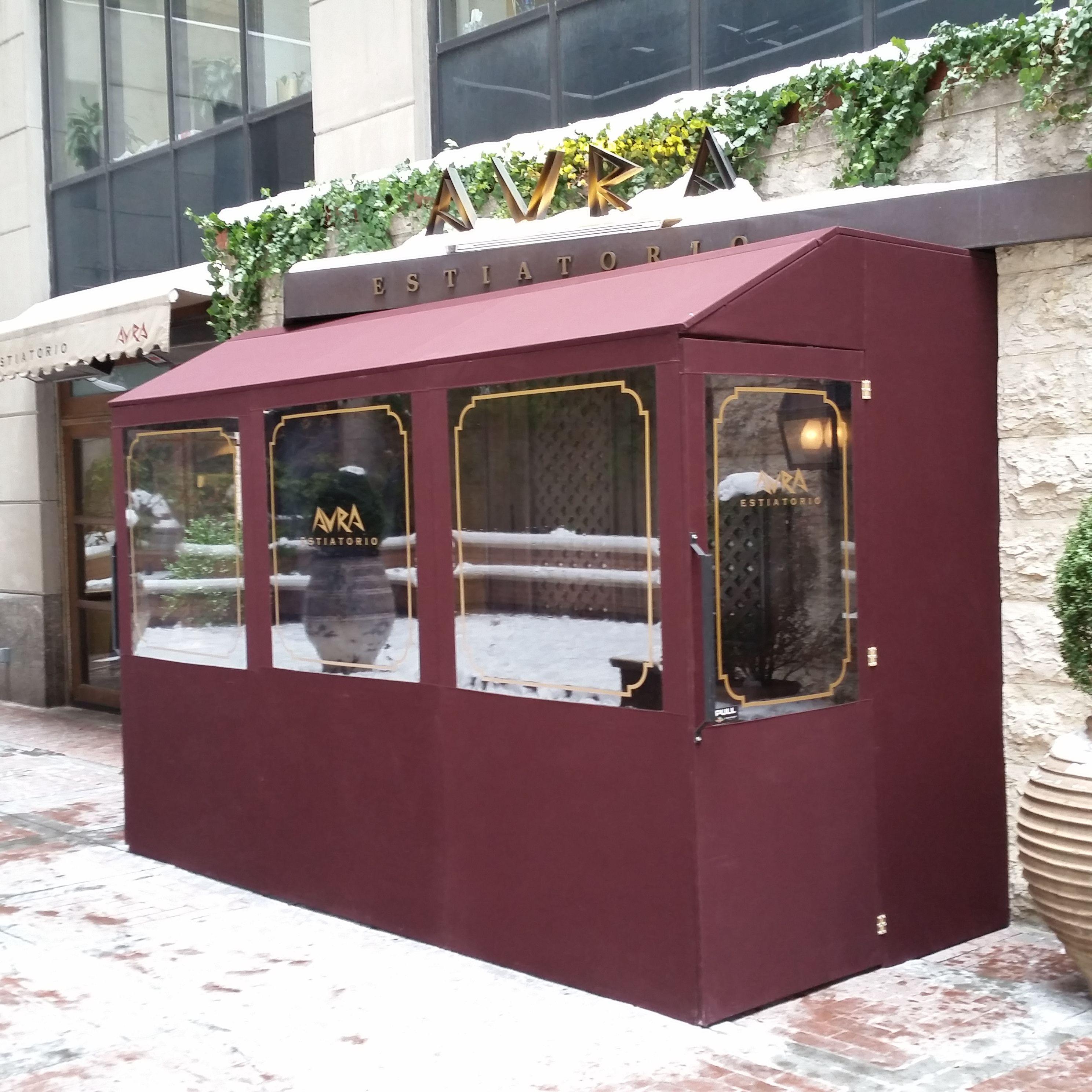 Beautiful winter vestibule!   Vestibule, Awning canopy ...