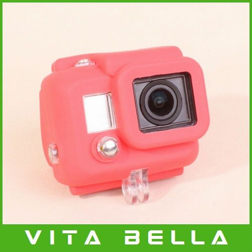 Universal Generic Protective Silicone Case Protector For Gopro Hero 3 Dustproof Anti Fog Proective Housing Free Shipping 12 Gopro Hero 3 Gopro Silicon Case
