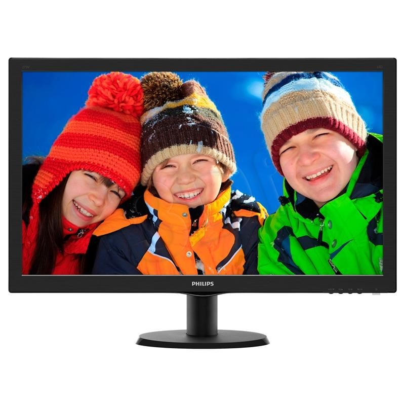 Philips 196V3LSB25/00 LCD Monitor New