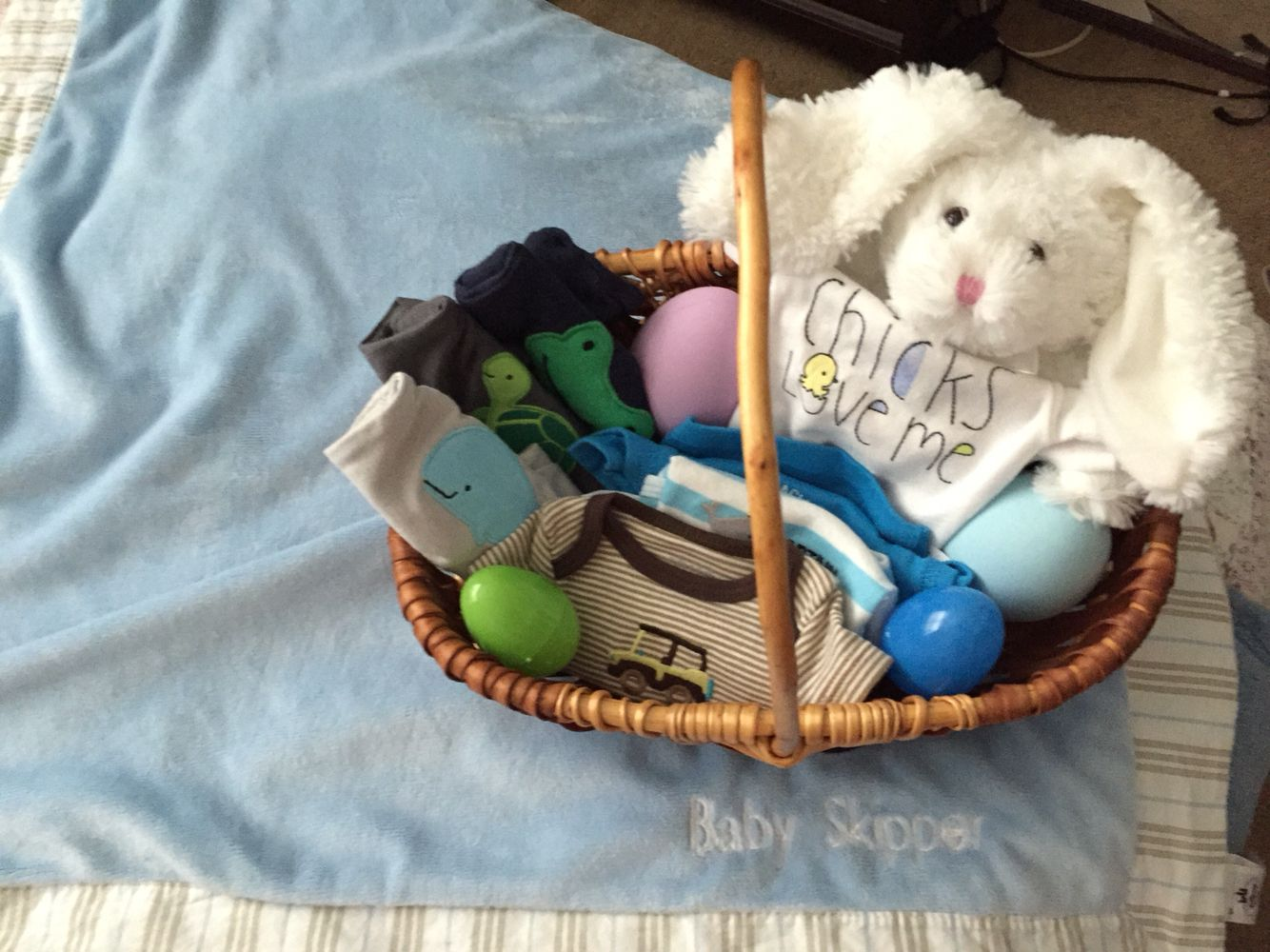 Easter basket newborn baby boy premie outfits with bunny rabbit 3 easter basket newborn baby boy premie outfits with bunny rabbit 3 simple and sweet negle Images