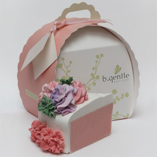b.gentle soap - flower cake slice - received this for christmas from my sister and it is just the most awesomely amazing thing ever!!!
