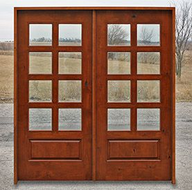Knotty Alder Interior Doors Wood French Doors Double Doors Exterior French Doors