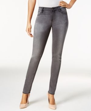 Kut from the Kloth Diana Skinny Jeans - Gray 16