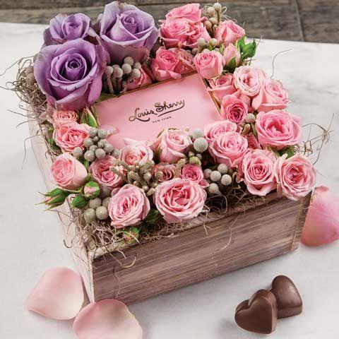 Sweet Cecile Flower Gift Flower Gift Ideas Flower Box Gift