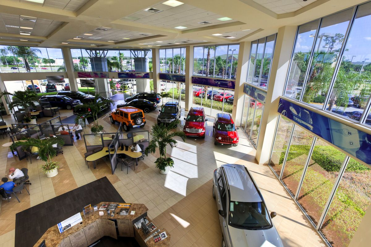 Showroom Of Central Florida Chrysler Jeep Dodge Chrysler Dodge