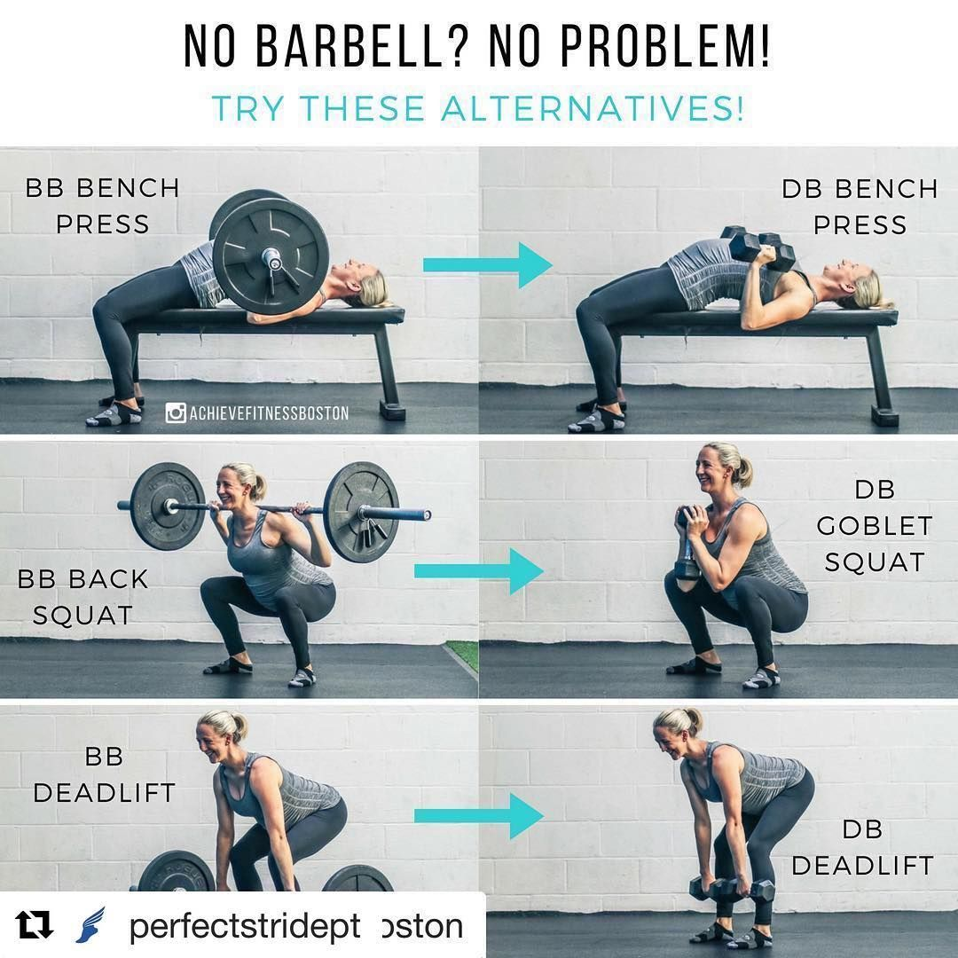 No Barbell No Problem Whats Up Achievers Here And Today We Wanted To Bring You Some Alternatives To The Popul Deadlift Weight Training Fitness Motivation