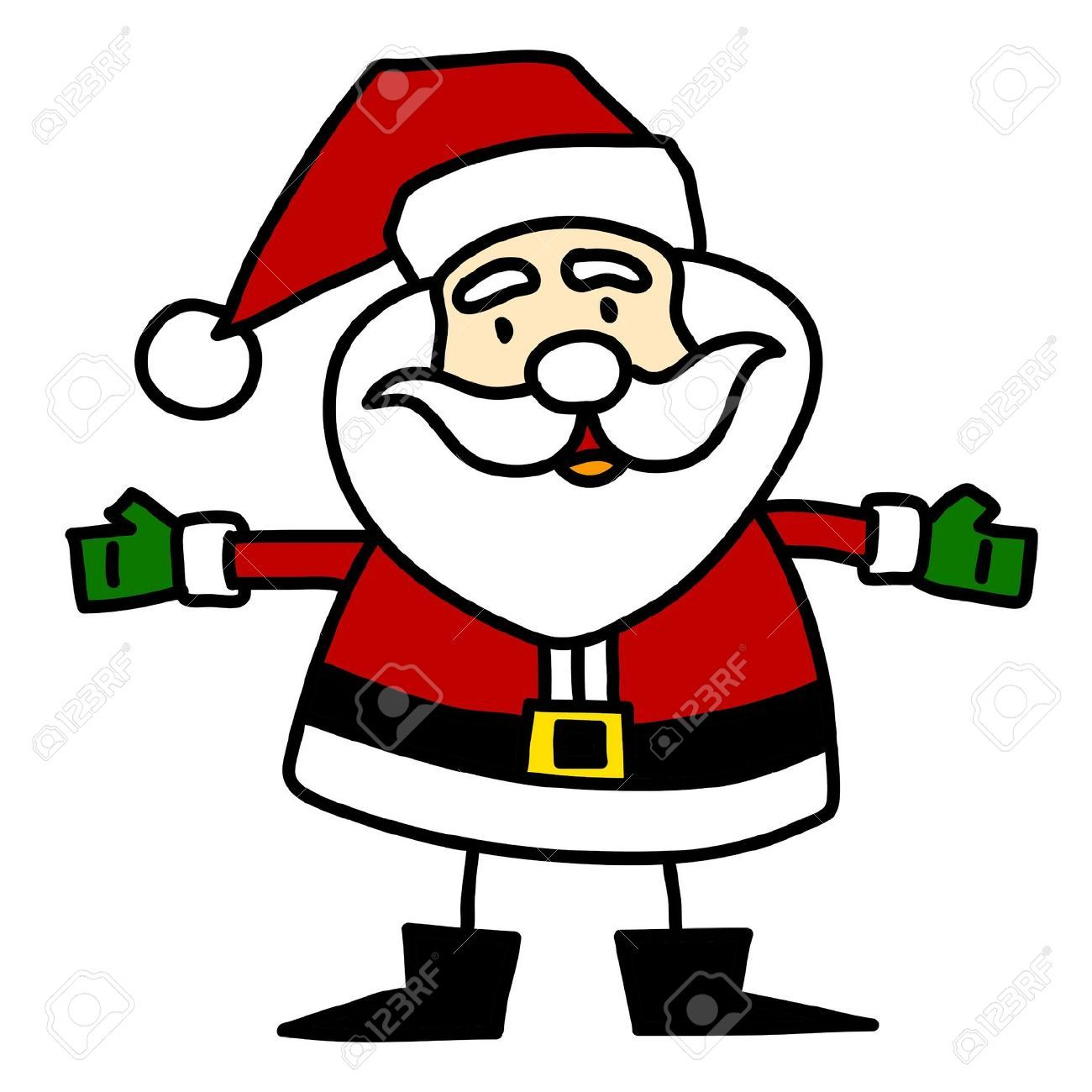 cartoon santa google search christmas decorations