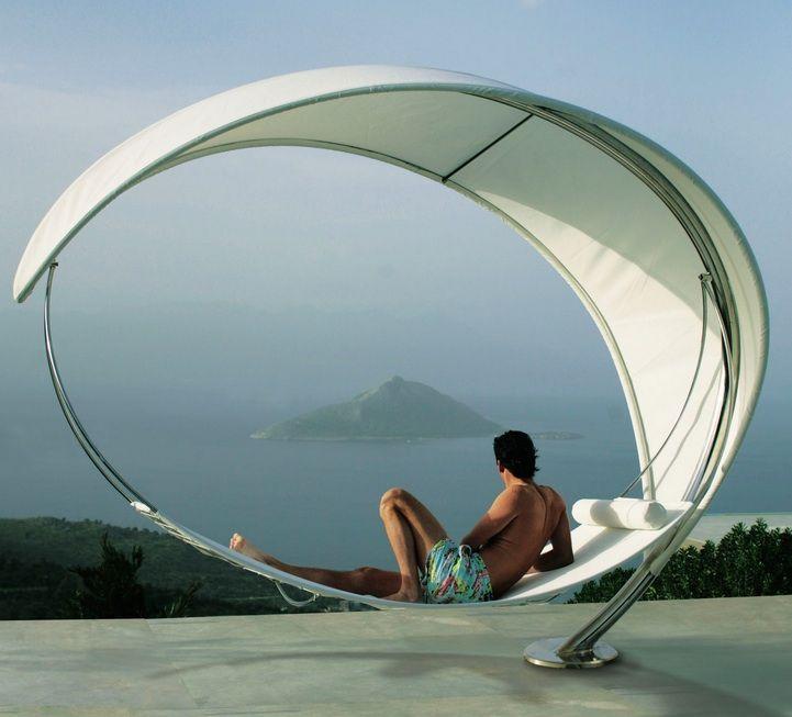 Wave U0026 Surf: Double Garden Canopy Sun Lounger By Royal Botania Idea