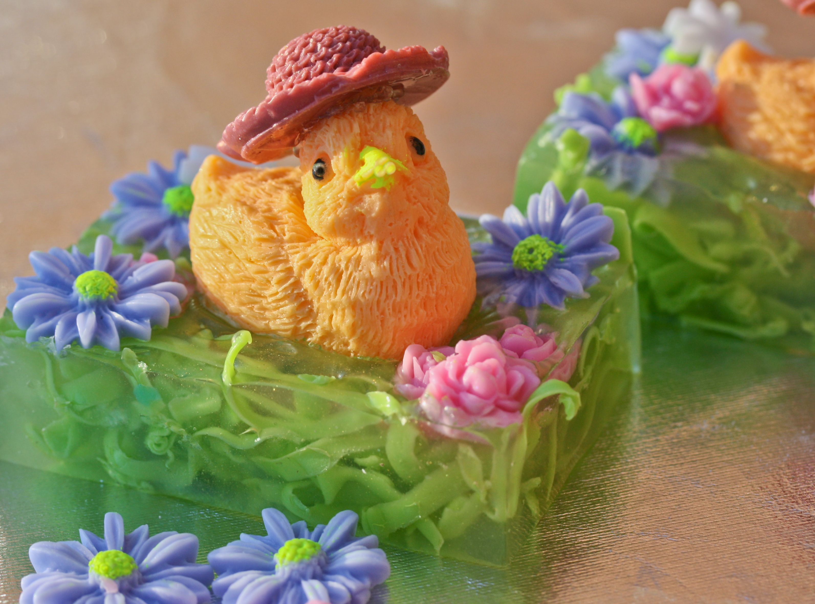 Spring chicks by sugarplum soaps the dimensionals pinterest