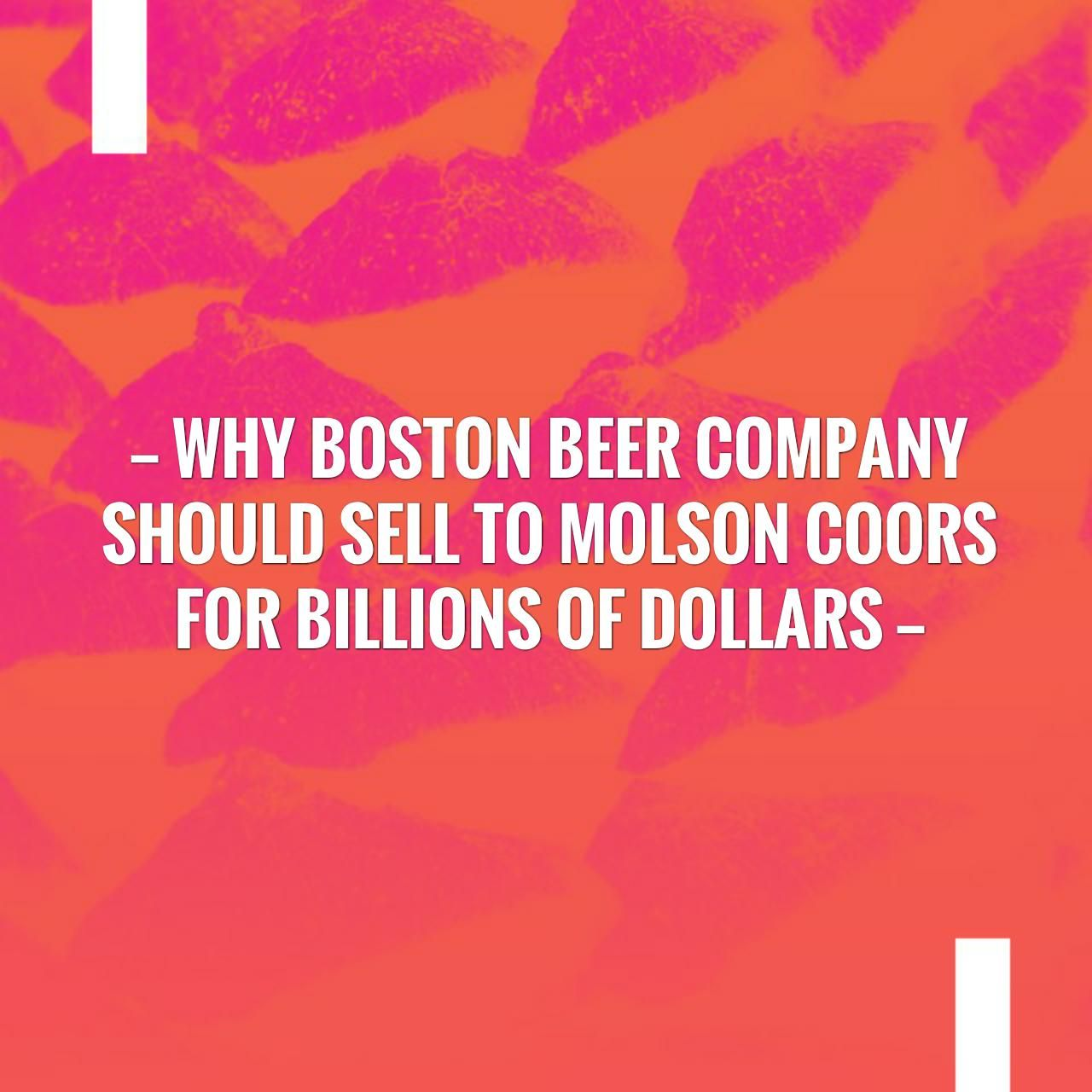 I have a feeling you'll like this one 😍 Why Boston Beer