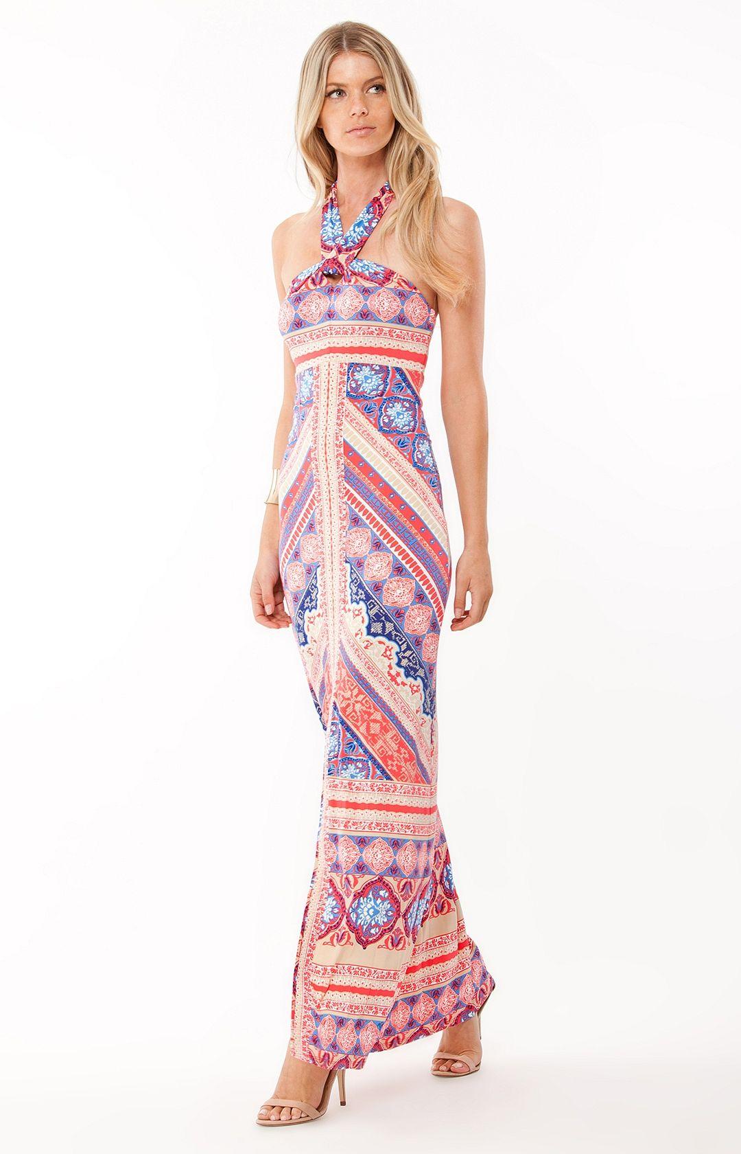 8f31101052 Neylan Halter Maxi   Fashionista   Halter maxi dresses, Dresses ...