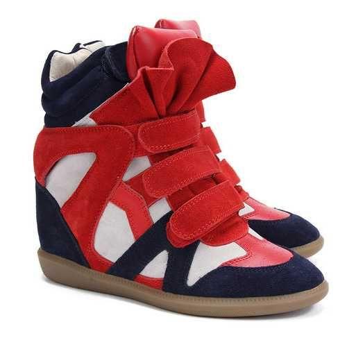 a1356eac699 Isabel Marant Sneakers Bekett Navy Beige | Isabel Marant Sneakers ...