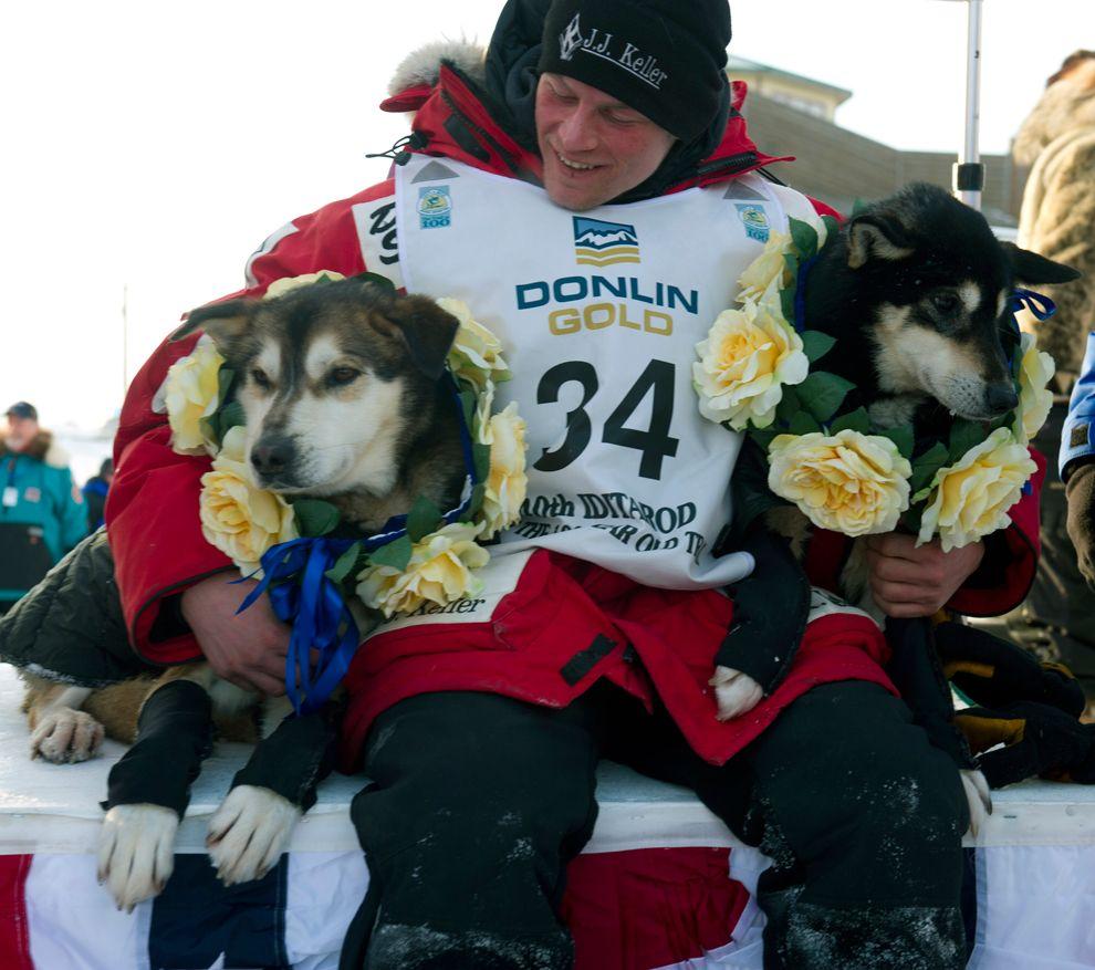 Iditarod Trail Sled Dog Race 2012 Musher, Dog sledding