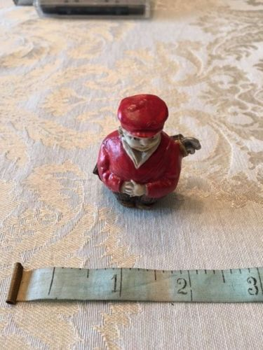 ANTIQUE-FIGURAL-SEWING-TAPE-MEASURE-MEASURE-CELLULOID-GOLFER-GOLF-CLUB-RARE-MINT
