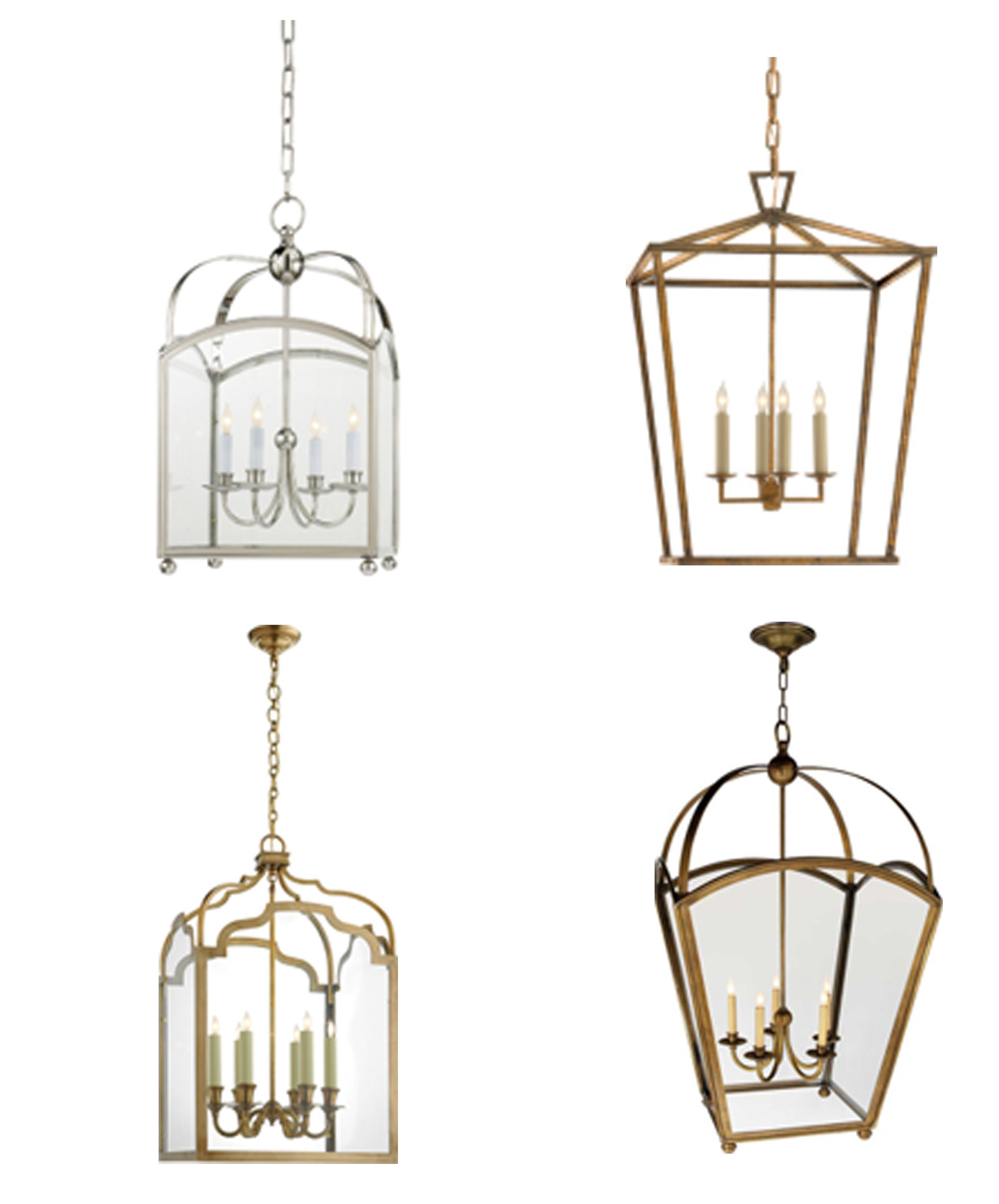 Get The Look Overscale Lighting: Lantern Love Visual Comfort & Co Get The