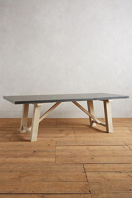 Laurier Dining Table Zinc Dining Tables Dining Table Dining Table Legs