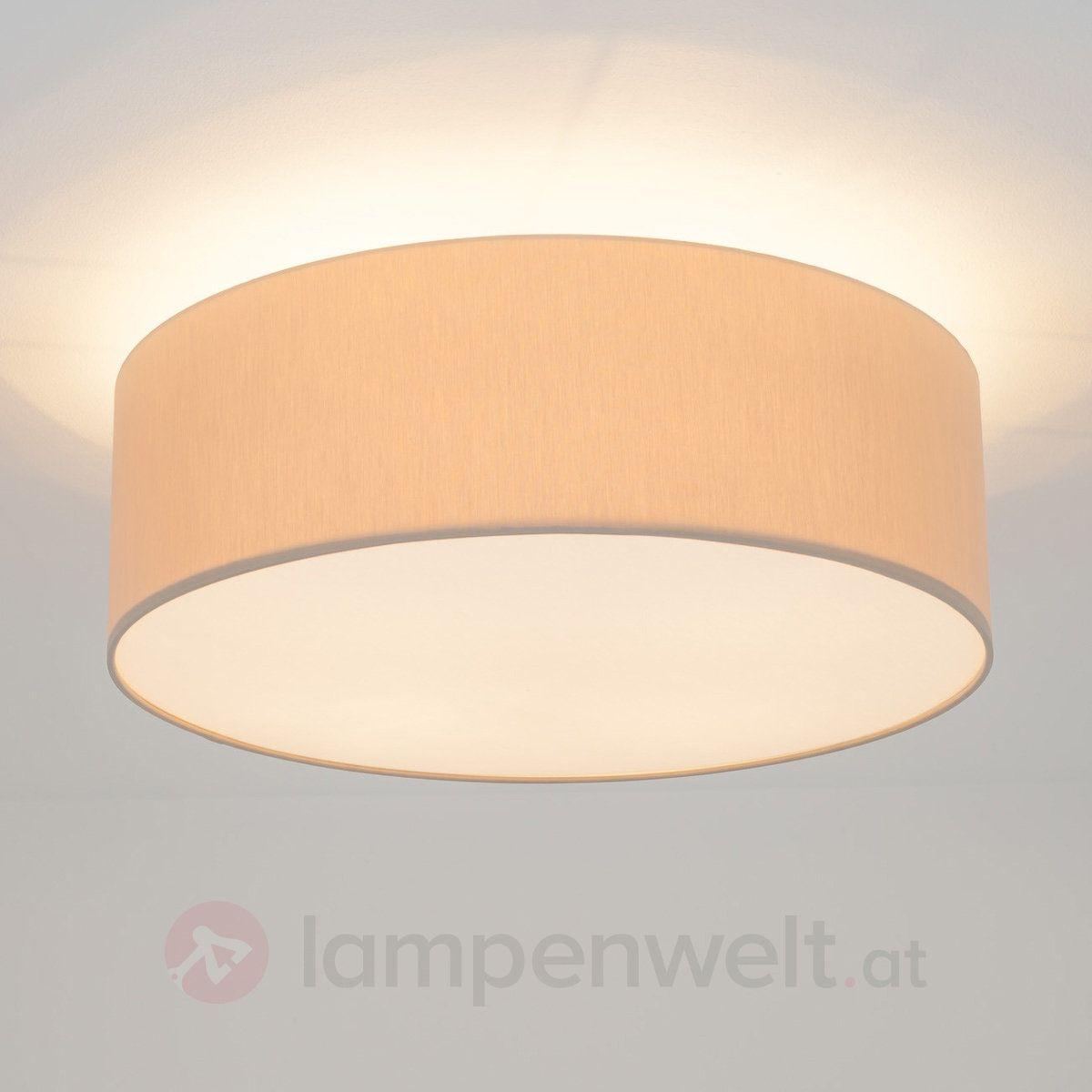 Runde LED-Deckenleuchte Gala mit Chintzschirm € 230 (50 cm ...