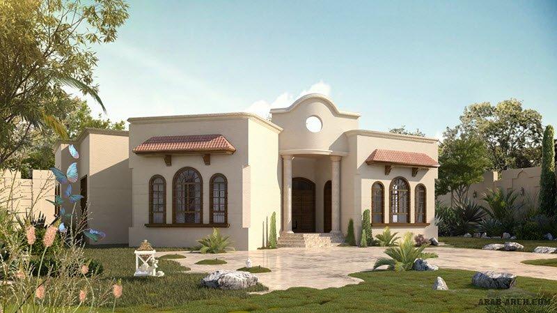 Arab Arch صفحة 18 Villa Design House Styles House Plans