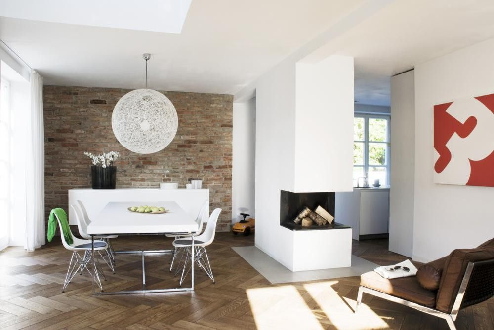 Wohnzimmer mit essecke modern wohndesign - Essecke roller ...