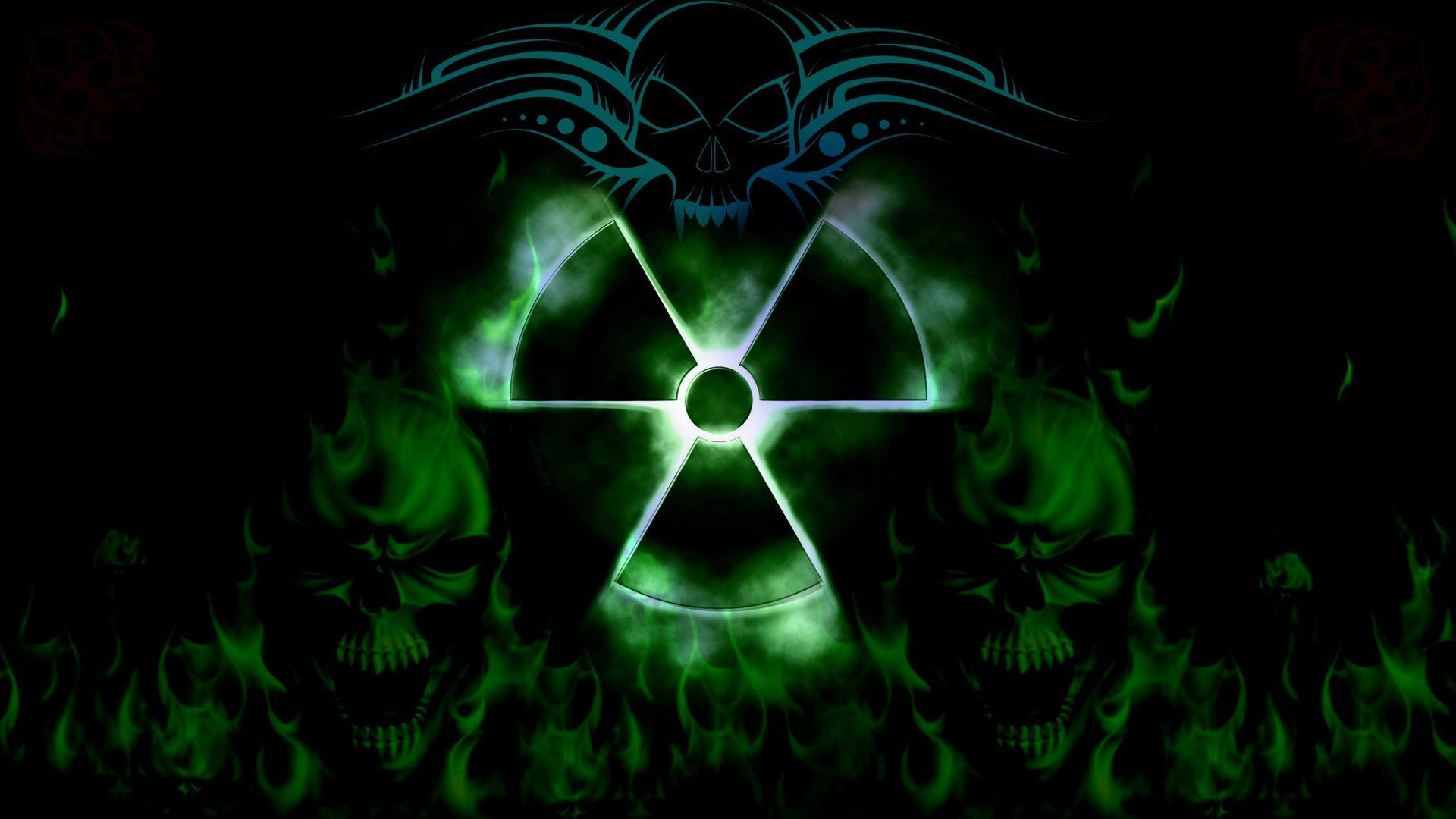 Cool pics of skull wallpaper hd wallpapers pinterest skull radioactive full hd wallpaper and background x id voltagebd Choice Image