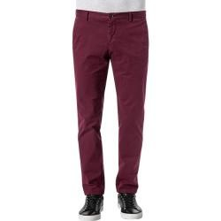 Tommy Hilfiger Tailored Herren Hose Chinos, Slim Fit, Baumwolle, barolo rot Tommy Hilfiger