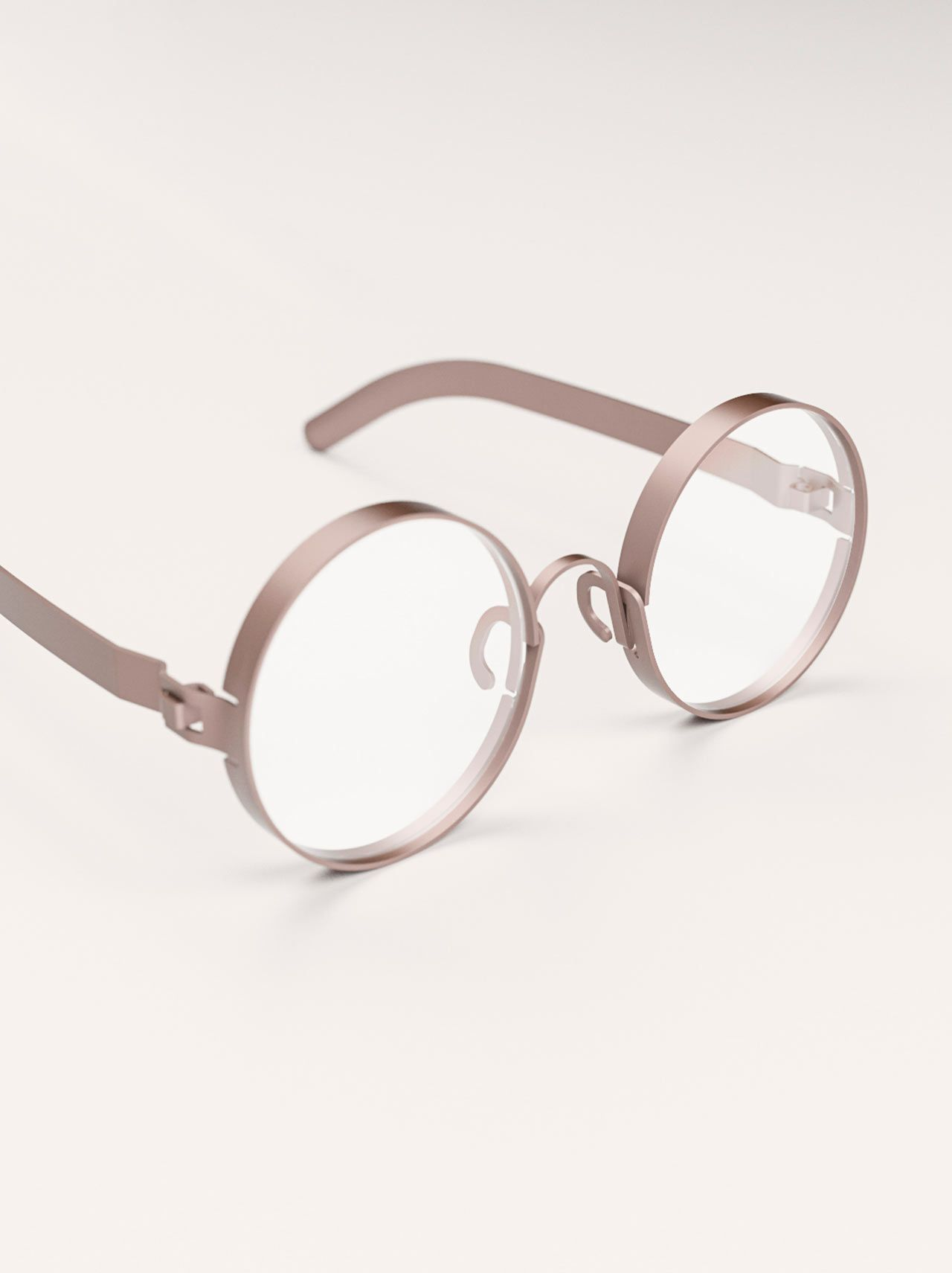 267889f5ed FRAME  Eyeglasses Cut From Sheet Metal to Reduce Waste