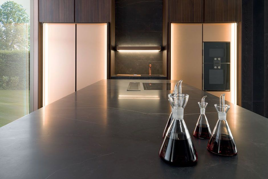Miraculous Kitchen Cabinets Porcelanosa Lou Al Kitchen Kitchen Home Interior And Landscaping Spoatsignezvosmurscom