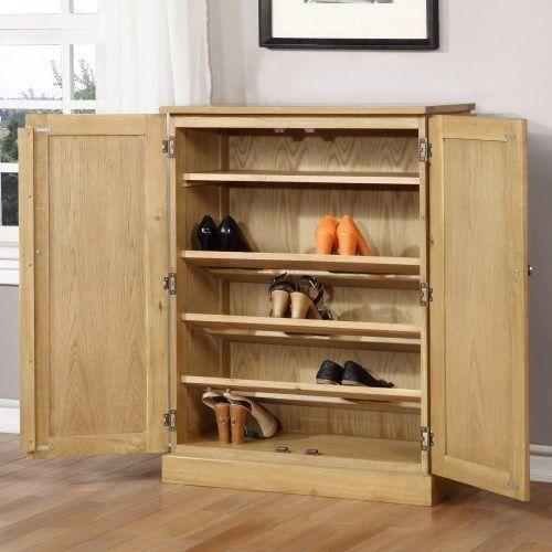 Merveilleux WIN001 Shoe Cabinet Open