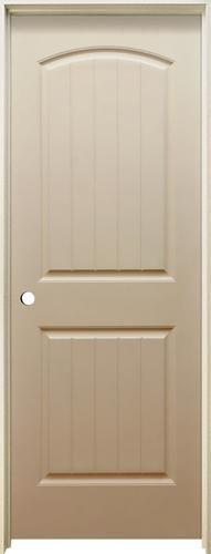 panel door interior slab solid pine arch top  bathroom pinterest doors and also rh in