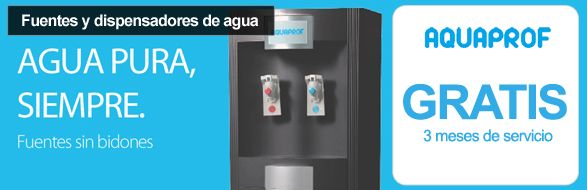 Fuentes Y Dispensadores De Agua Con Aquaprof 3 Meses Totalmente Gratis Dispensadores De Agua Fuentes De Agua Bidones