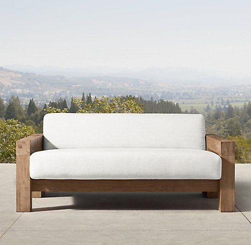 Bardenas Weathered Rh Modern Furniture Outdoor