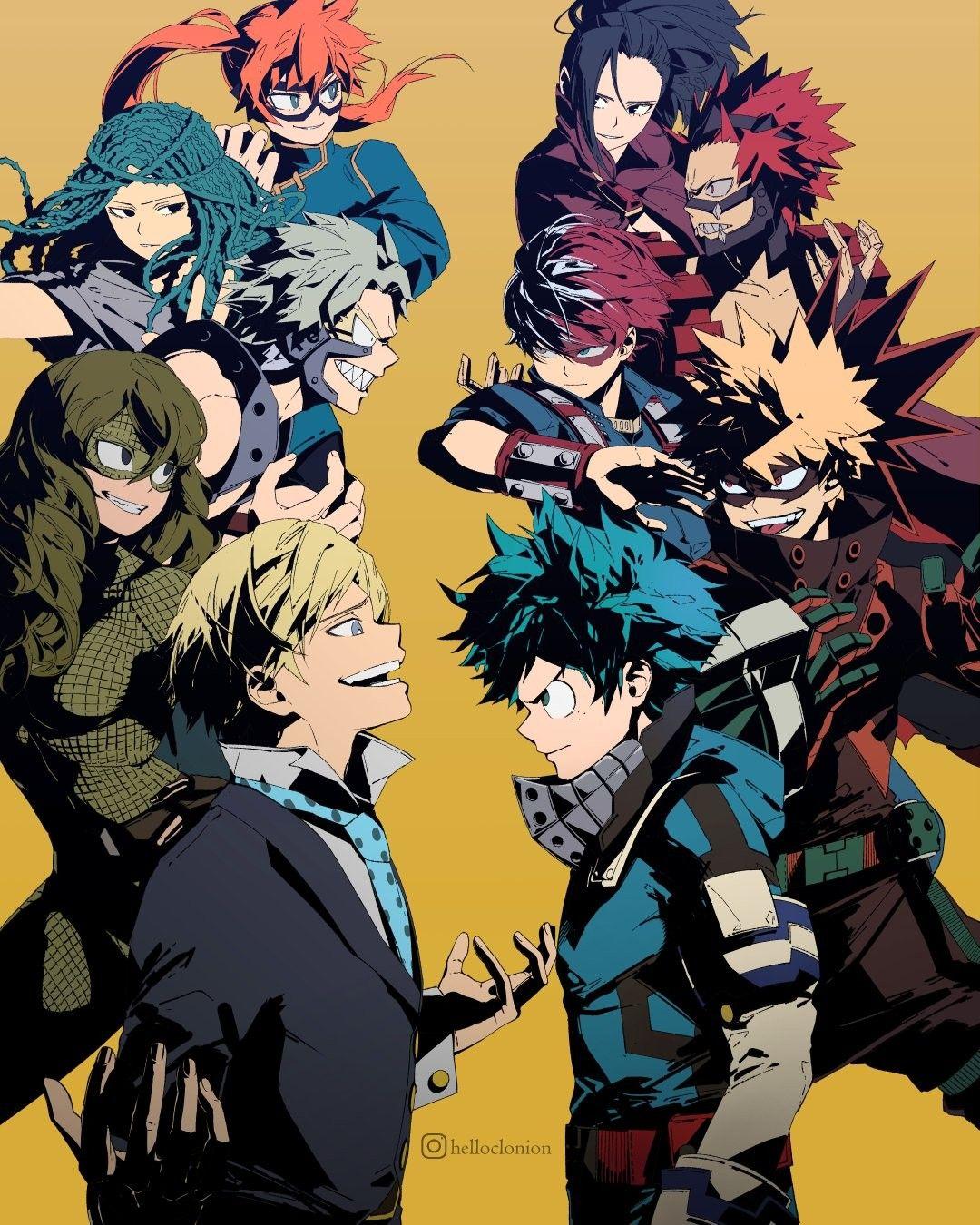 Joint Training Arc Helloclonion Anime Personagens De Anime Boku No Hero Academy