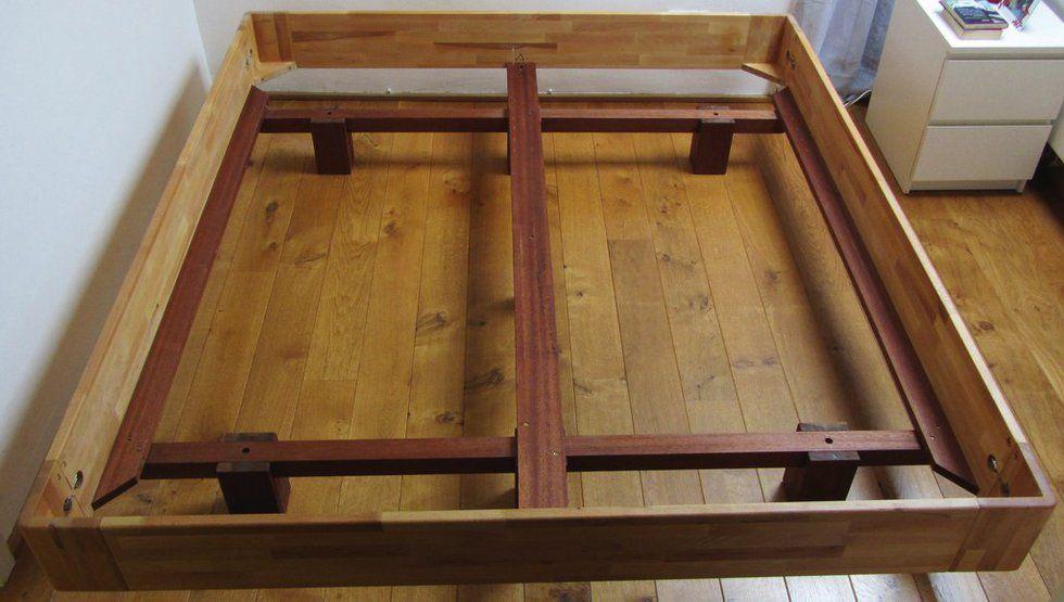 Dieses Bett ist eine Eigenkonstruktion, es sollte | diy furniture ...