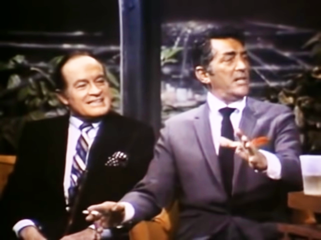 This Famous Lost Episode Of The Tonight Show With Dean Martin And Bob Hope Is The Stuff Of Legend Dean Martin Johnny Carson Tonight Show